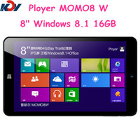 Wholesale New Arrived Cheaper inch IPS Intel Quad Core Windows win tablet pc RAM GB ROM GB computer Games ultrabook laptop Ployer MOMO8W