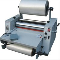 Wholesale DC Cold hot Laminating Machine Hot Laminator Roll Laminating Machine max laminating width MM