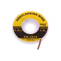 Wholesale 5pcs ft mm Desoldering Braid Solder Remover Wick TNI U TU