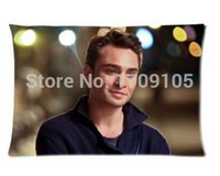 bass hotels - Hot Selling Chuck Bass X75cm Pillow Cover Cheap Pillowcases For Rest One Side Printed