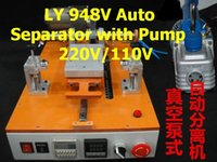 automatic vaccum - Semi automatic LCD Separator LY V with Vaccum pump for screen refurbishment It is very to use