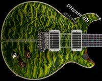 santana - Private Stock Santana Rainforest Electric Guitar By Spring