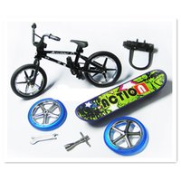 children bmx bicycle - 2015 Creative BMX Finger Bikes Brinquedos Toys Mini Finger Bicycle New Year Gifts for Children Adult