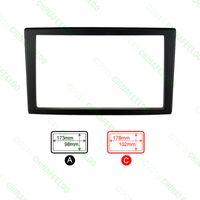Wholesale 30pcs Car Refitting Radio Stereo DVD Frame Fascia Dash Panel Installation Kits For Mazda Premacy Ford Ixion