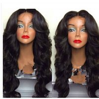 Wholesale heat resistant fiber new hot selling brazilian synthetic hair long curly dark brwon no bongs synthetic cosplay wig