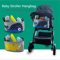 Wholesale 2016 Baby Stroller hangbag cartoon waterproof carriage box high quality canvas hanging bags for sales A022121