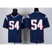 football wear - Cheap Football Jerseys Navy Blue Elite American Football Wears Hot Sale Athletic Outdoor Apparel Top Quality Football Gears Fast Ship