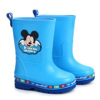 australian kids fashion - Australian Boots Promotion New Arrival High Quality Minnie Mickey Fashion Warm Kids Snow Shoes Children s Boy Girl Pvc Rain Boots