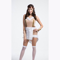 adult princess fancy dress - Halloween Sexy Indian Princess Pocahontas Adult Native American Fancy Dress Party Costume One Pair of Headdress and Bracelet Per Piece