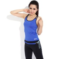 Wholesale Vest Pants Yoga clothes Suit New Fashion Women Running Gym Clothes Fitness Dance Aerobics Clothing Training Sports Set