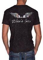 ufc - New Fashion Robin Men s Cotton T shirts Robin Jeans Men T shirts Short Sleeve Plus Size White Red Black