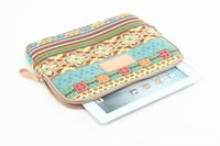 Wholesale DHL inch Bohemia Laptop Tablet Cases Bag Notebook Macbook Bags