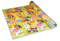 Wholesale 2016 New Arrival Baby Toys Two sided Baby Play Mat Puzzle Mat Kids Rug Tapete infantil toys for children cm