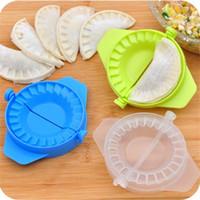 Wholesale Home plastic Dough Press Dumpling Pie Ravioli Making Mold Mould Maker Tool