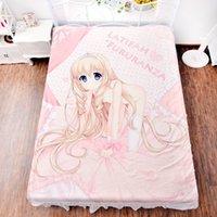 airs tall - Anime Tall Glorious Paradise Savior Sheet Series Latifah Fururanza Flannel Mattress Blanket Air Conditioner Quilt HD Printing