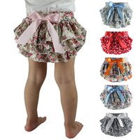 Wholesale Baby Shorts Girl bloomers Barefoot Sandal brand girl Woven Cotton Floral Newborn Baby Bloomers Roupas Infantil shorts0 M