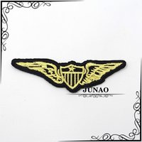 Wholesale 100 mm Iron On Military Patches Embroidered Motorcycle Patch Sew On Motif Applique Clothing Decorations pc