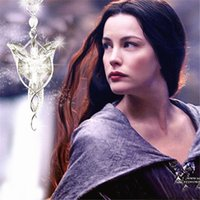 arwen evenstar necklace - The Lord of the Rings Crystal Necklaces Arwen Evenstar Pendant Necklaces Gorgeous Personalized Movie Jewelry