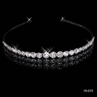 Cheap 2015 Bridal Hair Jewelry Wedding Rhinestone Flower Crown Princess Prom Cocktail Girl Tiara Accessories New Without Tags Silver Plated 18015