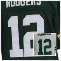 aaron rodgers jersey number - Factory Outlet Cheap Aaron Rodgers Jersey Green White Elite Football Jerseys Size S XL Number Name Stitched
