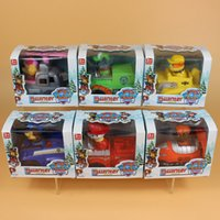 action truck - 6 Styles Paw Truck Figure Dolls Toys Skye Marshall Chase Zuma Rocky Rubble Patrol Action Figures Toys