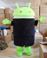 Wholesale Android Robot Mascot Costume Fancy Dress Outfit Adult Size EPE CostumeValentine s Day Thanksgiving Day Christmas Halloween