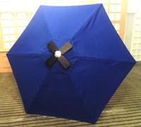 aluminum patio umbrellas - Solar Energy Product Sun Umbrella with Solar Panels Charger for iPhone etc Bar Umbrella Patio and Beach umbrella S02B