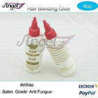 Wholesale bottle oz White Anti Fungus Hair Bonding Glue Super Bond Hair Bond Weave Wig Extension Liquid Glue