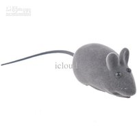 Wholesale 110pcs Lifelike Mini Mouse Simulated Mice Toy with Sound Effect for Cat Pet Color Assorted
