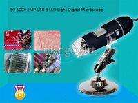 Wholesale New Big Discount X MP USB LED Light Digital Microscope Endoscope Video Camera Magnifier