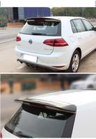 Wholesale stock Fit for Volkswagen GOLF RDX carbon fiber rear spoiler