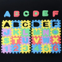 Wholesale Hot Sale Puzzle Age Kid Educational Toy Alphabet A Z Letters Numeral Foam Mat for Children