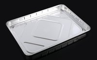 aluminum foil baking pans - aluminum foil tray Eco Friendly Party and Wedding Disposable Plates baking pan DT3345