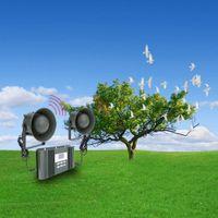Wholesale Rainproof Intelligent Animal Bird Expeller Voice Digital Equipment with Loudspeaker Outdoor W Amplifier dB Expeller