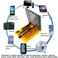 Wholesale 45in1 Torx Precision Screw Driver Cell Phone Repair Tool Set Mobile Flexible Kit