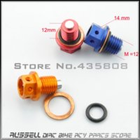Wholesale magnetic oil drain plug oil sump nut M12 X mm FOR DIRT BIKE ATV Monkey bike