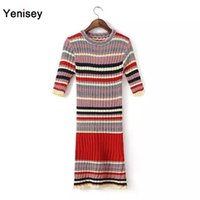 big red robe tee - 2015 Hot Sale Top Fashion Dresses Robe Bandage Dress Vestidos Xdg And The Wind Are Tee Big Stretch Knitted Sweater Dress FG1511