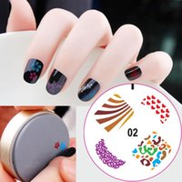 Wholesale 3D g pc DIY Nail Art Stamp Stamping Silicon Gel Plate Design Template with Retail Packaging Styles