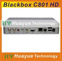 Wholesale BLACKBOX C801 HD Newest Singapore starhub hd cable tv box with wifi open BPL EPL HD channels