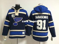 best mens hoodies - Factory Outlet St Louis Blues Jersey Sweatshirts Mens Ice Hockey Hoodies Embroidery Accept Mix Orders Vladimir Tarasenko Blue Best