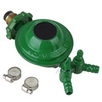 Wholesale Green Household Bottled Compressed Gas Pressure Reducing Regulator Valve outlet