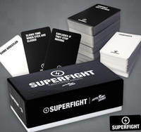 Wholesale SUPERFIGHT Card Core Deck The Superfight is a party game Christmas party game