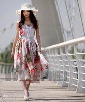 Casual Dresses Bohemian Dresses Summer #Hottest Summer Ladies Slim Bohemia Casual Chiffon Dress Beach Maxi Elegant Smock Boho Exotic Halter SS-SHYD-15#SF