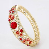 ancient nations - Authentic new cloisonne bracelet red nation wind restoring ancient ways bracelet Han Chao crystal act the role ofing is tasted exquisite box