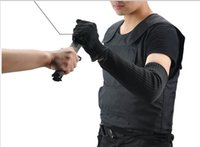 Wholesale The best soft Stab Vest outdoor equipment to send anti knife self defense tactical vest gloves anti knife Bracers