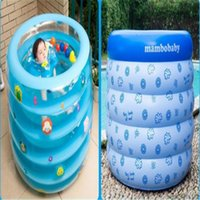 baby activity pool - 2pcs cm Round inflatable swimming pool for baby swim and bath use baby activity products supply