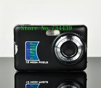 Wholesale NEW MP quot TFT LCD DIGITAL CAMERA X Digital Zoom Anti shake Rechargeable Lithium Battery Camera Bag