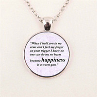 beatles photos free - Jewelry Quote Necklace the beatles All you need is love Photo Cabochon pendant art glass gemstone necklace