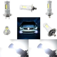 Wholesale 80W Fog Light Cob White H7 High Power car LED Bulb DRL Auto Lamp V Bright