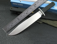Wholesale Cold Steel Fixed Hunting Knife C Blade Straight Tactical Survival Knife For Outdoor Camping With ABS Handle